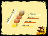Palm Trees PowerPoint Template#14