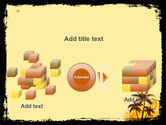 Palm Trees PowerPoint Template#17