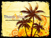 Palm Trees PowerPoint Template#20