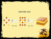 Palm Trees PowerPoint Template#9