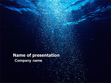 Underwater PowerPoint Template