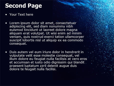 Underwater PowerPoint Template Slide 2