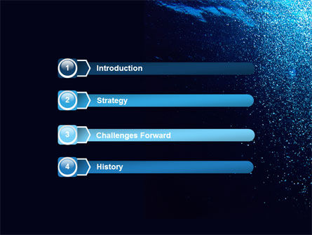 Underwater PowerPoint Template Slide 3