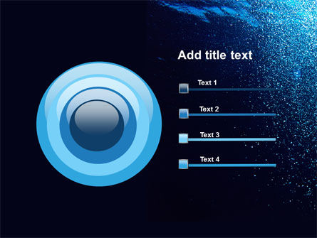 Underwater PowerPoint Template Slide 9