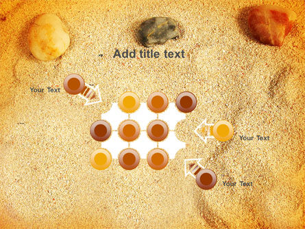 Beach Sand PowerPoint Template Slide 10