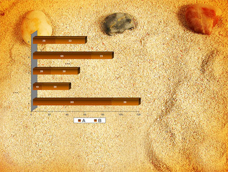 Beach Sand PowerPoint Template Slide 11