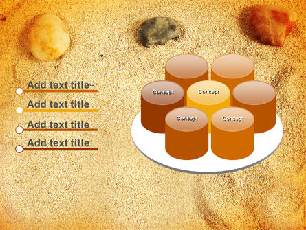 Beach Sand PowerPoint Template Slide 12