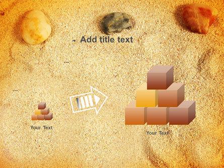 Beach Sand PowerPoint Template Slide 13