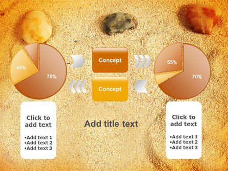 Beach Sand PowerPoint Template Slide 16