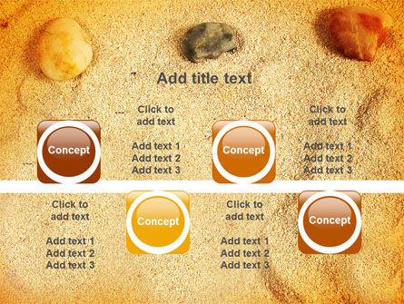 Beach Sand PowerPoint Template Slide 18