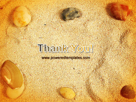 Beach Sand PowerPoint Template Slide 20