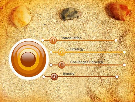 Beach Sand PowerPoint Template, Slide 3, 05765, Careers/Industry — PoweredTemplate.com