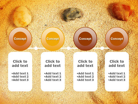 Beach Sand PowerPoint Template Slide 5