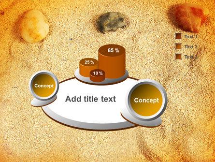 Beach Sand PowerPoint Template Slide 6