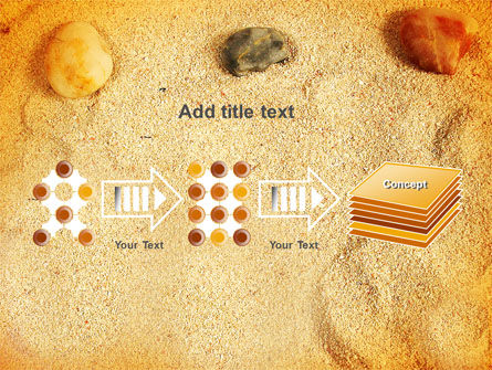 Beach Sand PowerPoint Template Slide 9