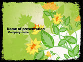 Abstract/Textures: Nenuphar PowerPoint Template #05766