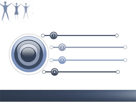 People Holding Hands PowerPoint Template, Slide 3, 05769, Religious/Spiritual — PoweredTemplate.com