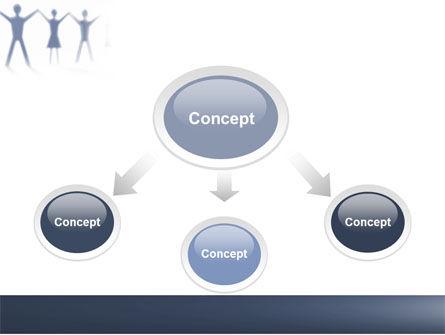 People Holding Hands PowerPoint Template, Slide 4, 05769, Religious/Spiritual — PoweredTemplate.com