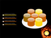 Candle In Hands PowerPoint Template#12