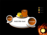 Candle In Hands PowerPoint Template#6