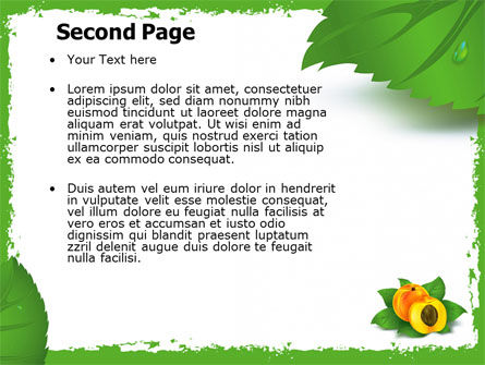 Peach PowerPoint Template Slide 2