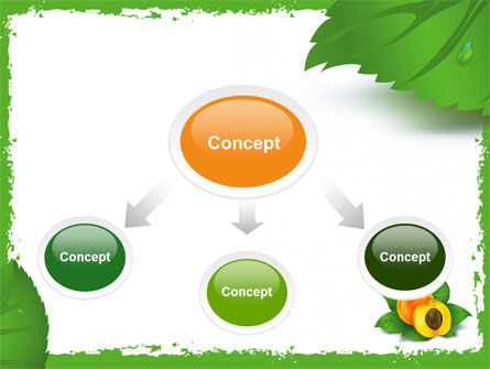 Peach PowerPoint Template, Slide 4, 05772, Food & Beverage — PoweredTemplate.com