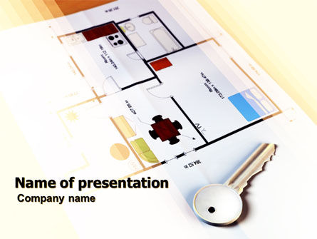 Careers/Industry: Apartment PowerPoint Template #05773