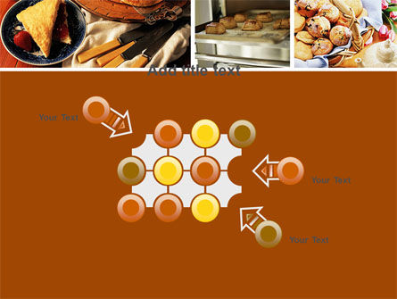 Pastry In Collage PowerPoint Template Slide 10