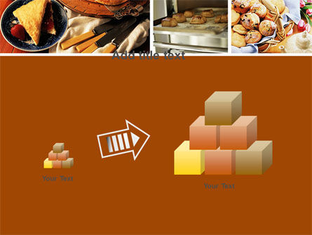 Pastry In Collage PowerPoint Template Slide 13