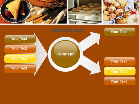 Pastry In Collage PowerPoint Template Slide 15