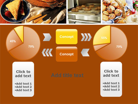 Pastry In Collage PowerPoint Template Slide 16