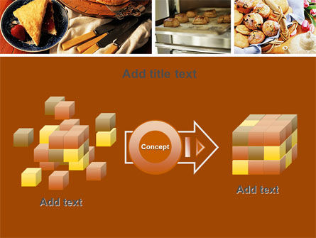 Pastry In Collage PowerPoint Template Slide 17