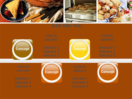 Pastry In Collage PowerPoint Template Slide 18