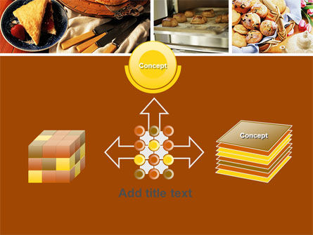 Pastry In Collage PowerPoint Template Slide 19