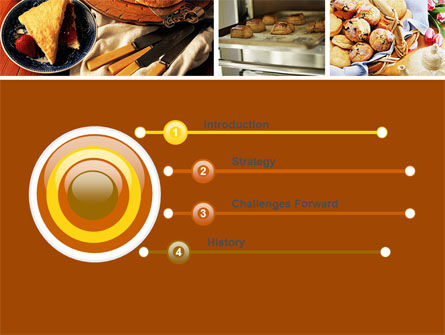 Pastry In Collage PowerPoint Template Slide 3