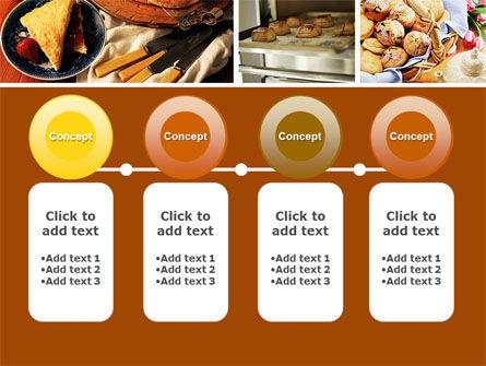 Pastry In Collage PowerPoint Template Slide 5