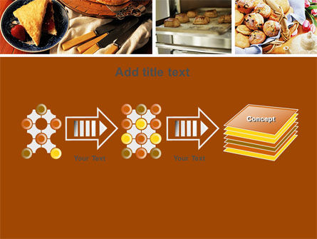 Pastry In Collage PowerPoint Template Slide 9