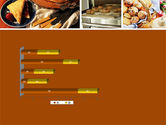Pastry In Collage PowerPoint Template#11