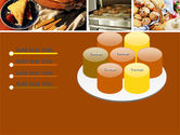 Pastry In Collage PowerPoint Template#12
