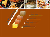 Pastry In Collage PowerPoint Template#14