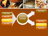 Pastry In Collage PowerPoint Template#15