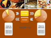 Pastry In Collage PowerPoint Template#16