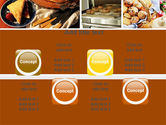 Pastry In Collage PowerPoint Template#18