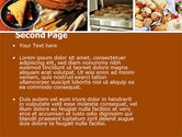 Pastry In Collage PowerPoint Template#2