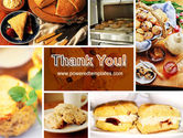 Pastry In Collage PowerPoint Template#20