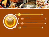 Pastry In Collage PowerPoint Template#3