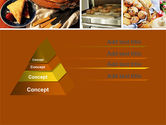 Pastry In Collage PowerPoint Template#4