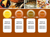 Pastry In Collage PowerPoint Template#5
