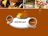 Pastry In Collage PowerPoint Template#6