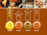 Pastry In Collage PowerPoint Template#7